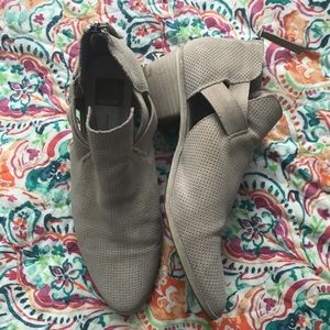 Dolce Vita Booties with Cutout/Strap Detail